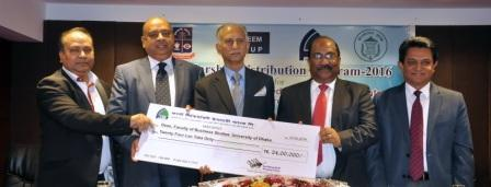 FSIBL has Given Scholarship to 40 Meritorious Residential Students of Dhaka University