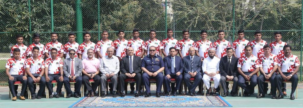 Bangladesh Hockey Team to Asian Games Qualifying Hockey Tournament